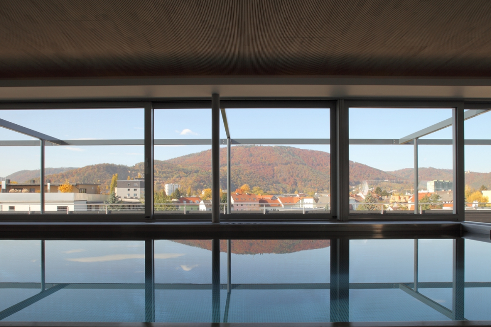 Schwimmbad Dachausbau